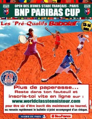BNP Paribas Cup à Roland Garros