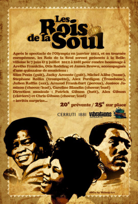 LES ROIS DE LA SOUL - HOMMAGE A ARETHA FRANKLIN, OTIS REDDING ET JAMES BROWN