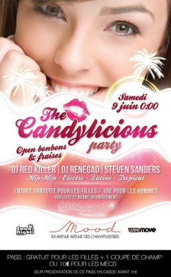 CANDYLICIOUS : édition fraises & Candy VIP