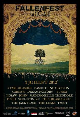JIGSAW en concert à la Cigale (festival Fallenfest)