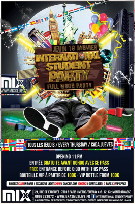 International Student Party : Full moon party