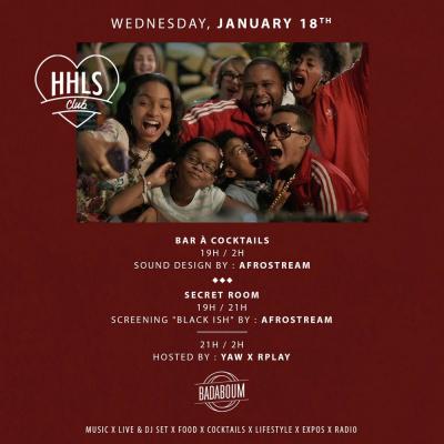 HHLS CLUB x Afrostream | 19h-2h