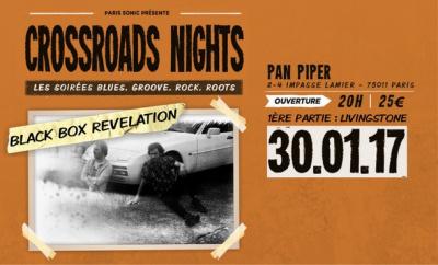 BLACK BOX REVELATION + LIVINGSTONE – Crossroads Nights #2