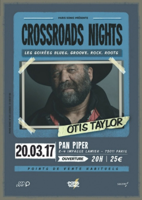OTIS TAYLOR Crossroads Nights #3