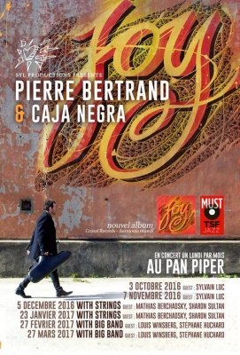 PIERRE BERTRAND - CAJA NEGRA & BIG BAND