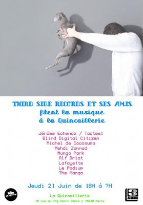 Third Side Records fête la musique @ La Quincaillerie