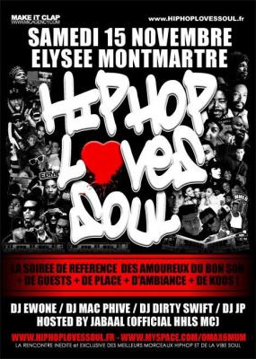 Hip Hop Loves Soul, Elysée Montmartre, HHLS