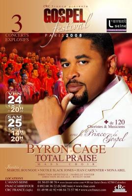 Concerts, Paris, Festival, Gospel, Avant Seine, Byron Cage