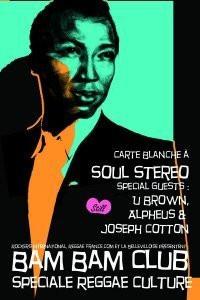 Soirée, Paris, Bam Bam Club, Soul Stereo Sound System, Bellevilloise