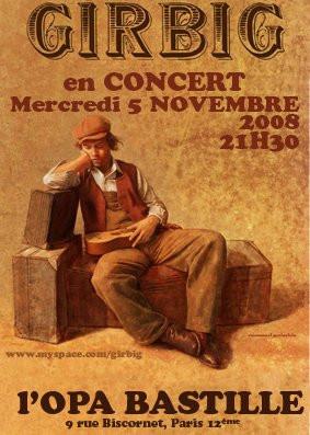 Concert, Paris, Girbig, OPA