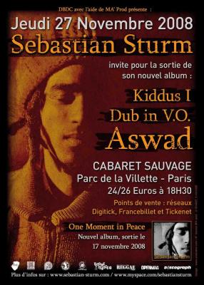 Concert, Paris, Sebastian Sturm, Cabaret Sauvage