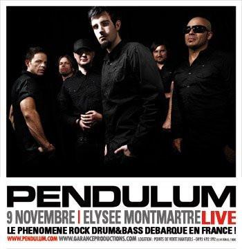 Concert, Paris, Pendulum, Elysée Montmartre, Rock Drum & Bass