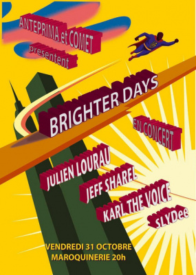 Concert, Paris, Brighters Days, Maroquinerie, De jours meilleurs