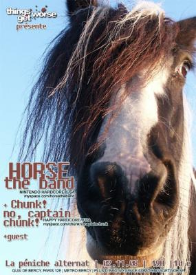 Soirée, Paris, Horse The Band, Péniche Alternat