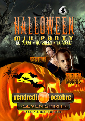 Soirée, Paris, Halloween Mix Party, Le Seven Spirit