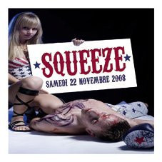 Soirée, Paris, Squeeze vs B-trax, Nouveau Casino