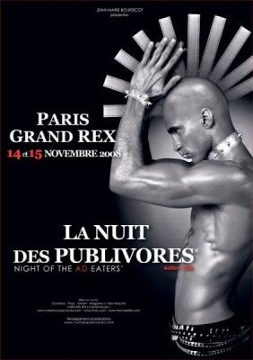 Cinéma, Publicité, Grand Rex, La Nuit des Publivores, Paris