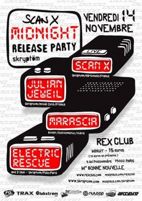 Soirée, Clubbing, Paris, Skryptom, Rex