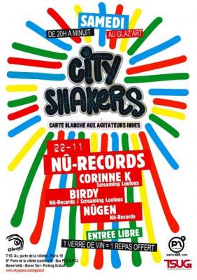 Concerts, Paris, City Shakers, Nû-Records, Glaz'art