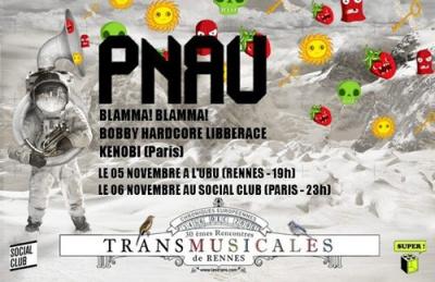 Soirée, Paris, Transmusicales de Rennes, Social Club