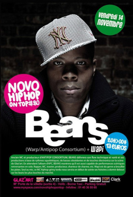 Concert, Paris, Novo Hip Hop On Top, Beans, Wapi