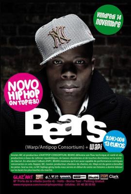 Concert, Paris, Novo Hip Hop On Top, Beans, Wapi