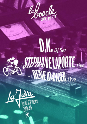 LA BOUCLE LIVE PARTY