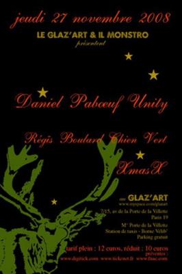 Concert, Paris, Glaz'art, Daniel Pabœuf
