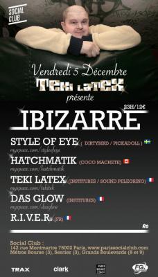 Soirée, Paris, TTC, Teki Latex, Orgasmic, Hatchmatik, Institubes, Das Glow, Der Gaga, Linus Eklöw