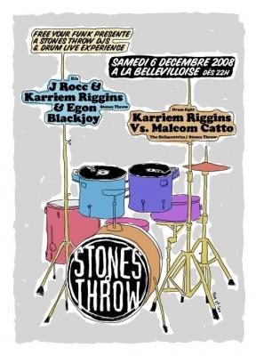 Soirée, Paris, Free Your Funk, Stones Throw Live & Djs Experience