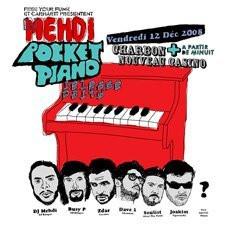 Soirée, Paris,Mehdi, Pocket Piano, Nouveau Casino