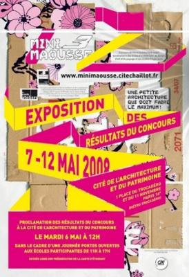 Art, Paris, Exposition, Mini-Maousse 3, Cité de l'architecture et du patrimoine, Biennale Design, Saint Etienne
