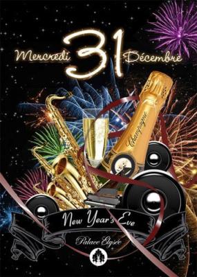 Soirée, Paris, Réveillon, New Year's Eve, Palace Elysée, 31 décembre