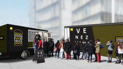 Burgers Gratuits au Nikon Vision Tour
