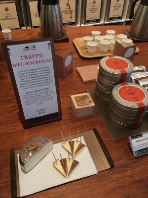 Lupicia vous invite à une dégustation Thé et fromages