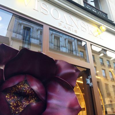 Visoanska ouvre sa première boutique à Paris