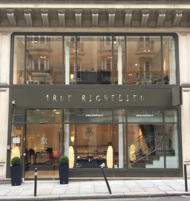 Avellino ouvre sa boutique à Paris