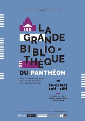 La Grande Bibliothèque du Panthéon, un évènement littéraire et solidaire