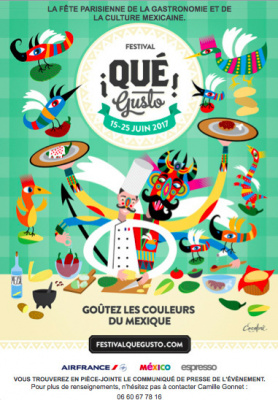 Que Gusto, le festival de la gastronomie mexicaine