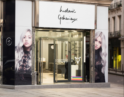 Ludovic geheniaux ouvre un salon de coiffure coloriste paris for Salon de coiffure sur paris