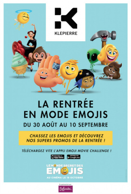 Emoji Movie Challenge : Attrapez-les tous !