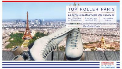 Le rooftop de la Tour Montparnasse devient une piste de rollers : Gagnez vos places
