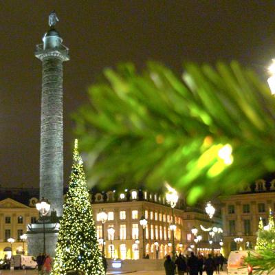 Illuminations de Noël 2017 de la place Vendôme