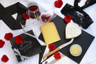 La Secret Cheese Box pour une dégustation de fromage en amoureux