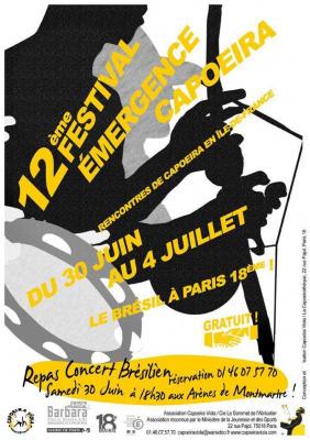 12ème Festival Emergence Capoeira!