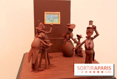 Exposition en chocolat à la Villa Emerige