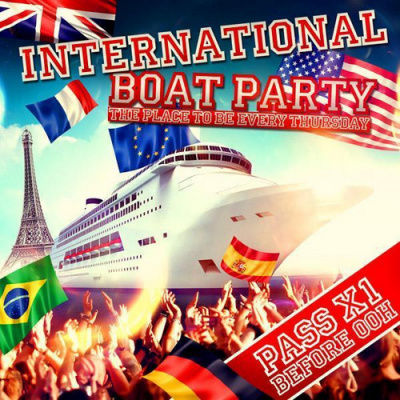 INTERNATIONAL BOAT PARTY (by Erasmus)