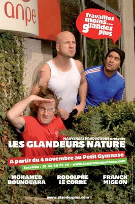 Les Glandeurs Nature Affiche 2008