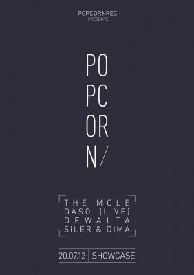 Popcorn Records Night : The Mole, Dewalta, Daso, Siler & Dima