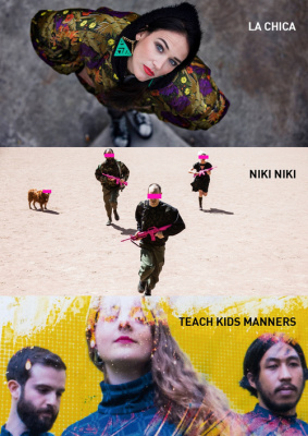 LA CHICA + TEACH KIDS MANNERS + NIKI NIKI